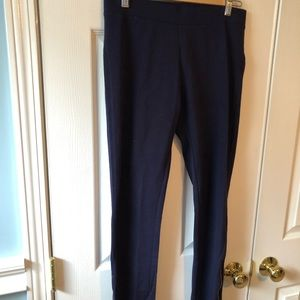 Gap leggings with zippers on side of legs